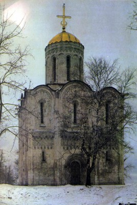 Cathedral of St.Demetrius in Vladimir. 1194-1197