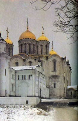 Cathedral of the Assumption in Vladimir. 1158-1160
