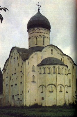 Church of St. Theodore Stratilates in Novgorod. 1361