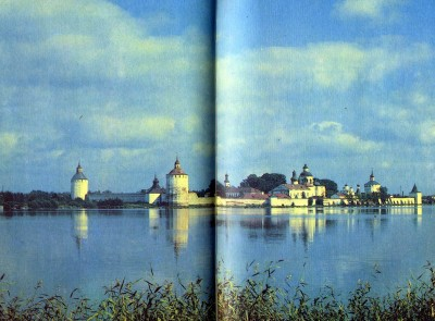 White LakeMonastery of St Cyril. 16th-17th century. General view