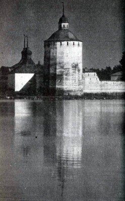 White LakeMonastery of St Cyril. Fortified tower