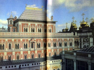 Terem Palace of the Moscow Kremlin. 1635-1636